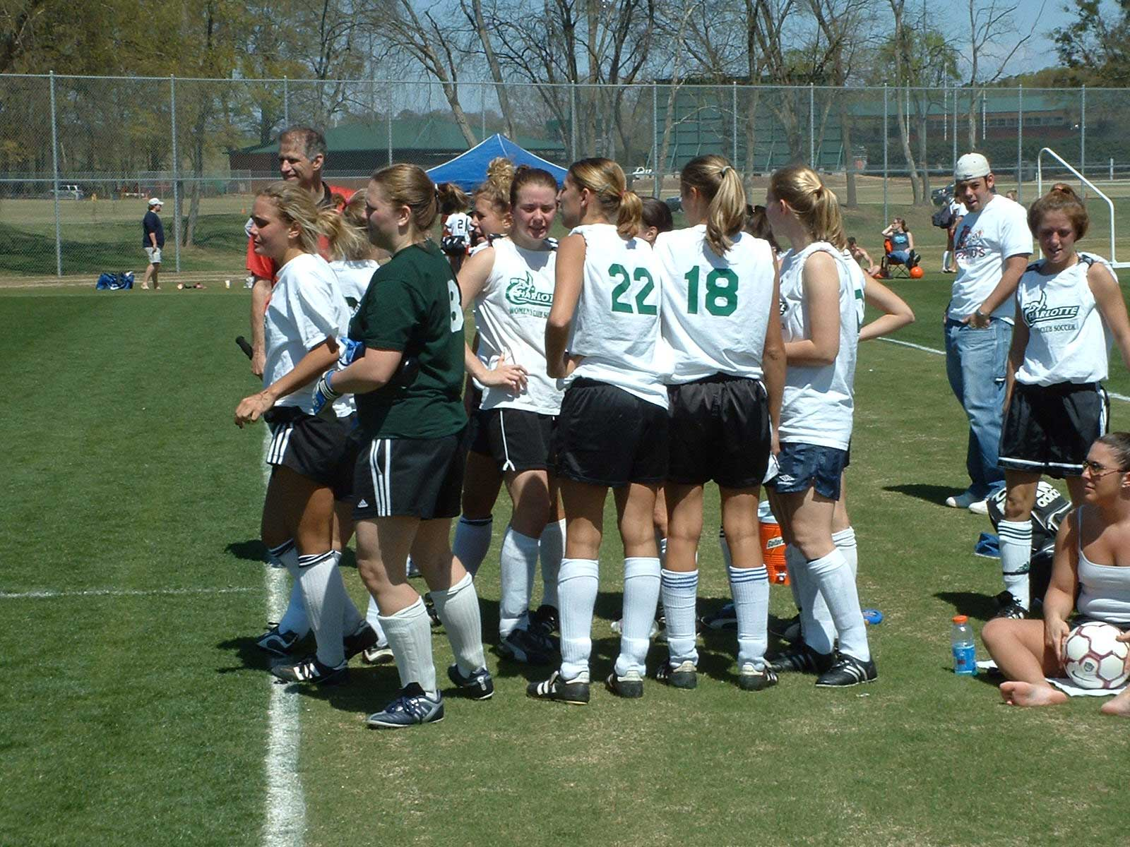 Clemson University Women's Club Soccer http://tk-jk.net/GTsoccer/blog/20032004/2004Springseason.html