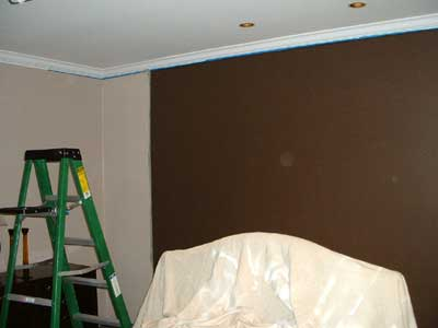 It Will Separate The Two Colors With A Bit Of 3 D Accent And Further Frame Bed We May Paint HC 71 Chocolate Color Liked So Much