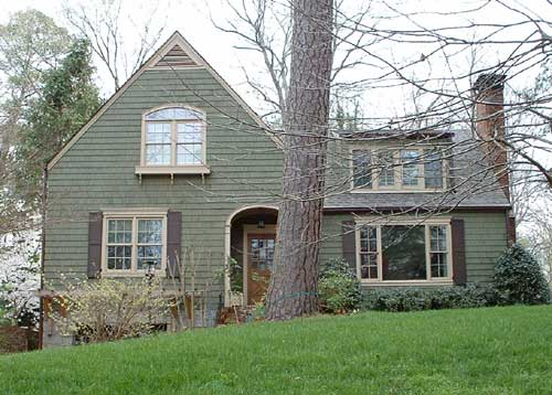 Pretty exterior paint reeder redecoration - White house green trim ...