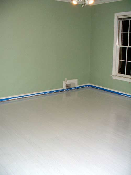 Painted Floor Amazing With White Painted Wood Floors Pictures